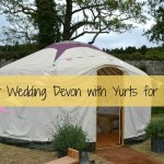 Yurt Wedding Devon with Yurts for Life