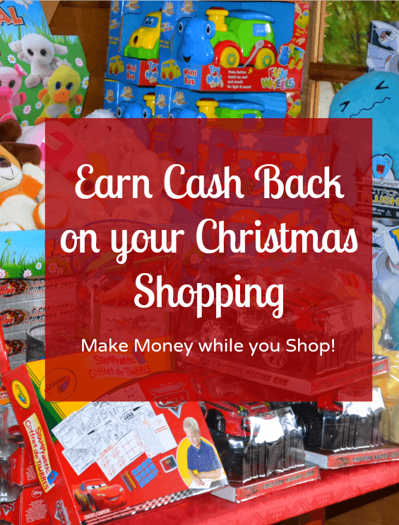 Earn cash back on your Christmas shop