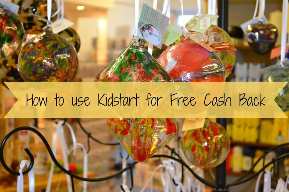 How to use Kidstart for Free Cash Back
