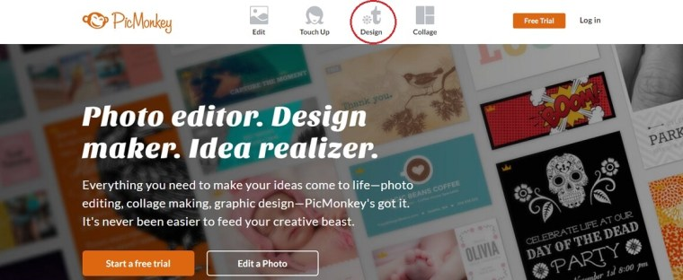 How to create a blog header using PicMonkey