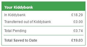Kidstart earn free cash back