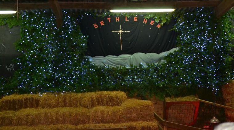 The Nativity at Pennywell Farm in Devon