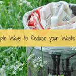 5 Simple Ways to Reduce your Waste Today