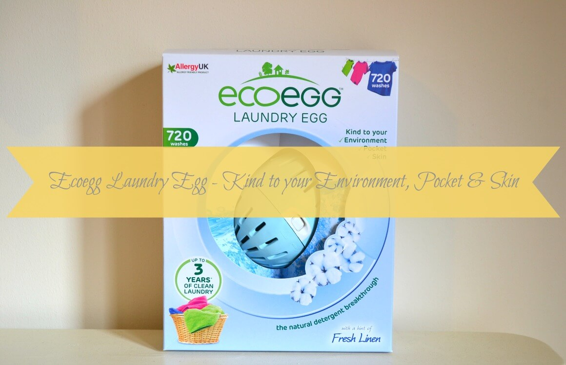 Ecoegg Laundry Egg - Kind to your Environment, Pocket & Skin