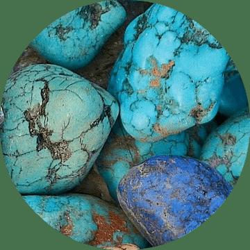 Cristal turquoise pour la guérison