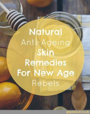 Natural anti-ageing skin remedies