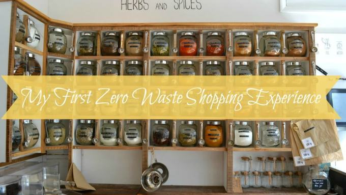 Zero Waste shopping in Devon