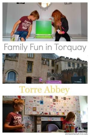 Torre Abbey in Torquay Devon