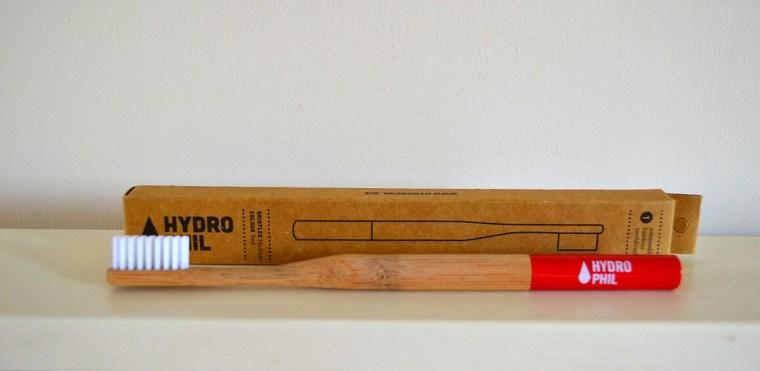 Hydro Phil bamboo toothbrush