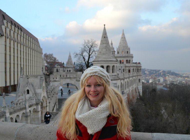 Budapest on the Buda side of the river