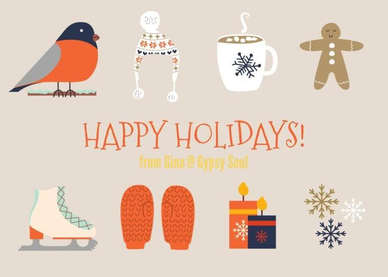 PicMonkey Christmas card design