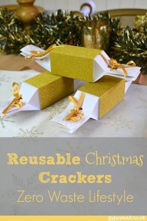 Reusable Christmas crackers - Zero waste