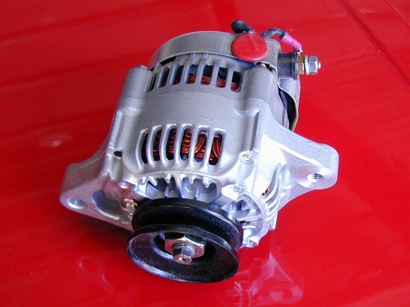 16 Volt 55 Amp Super Mini Denso Racing Alternator