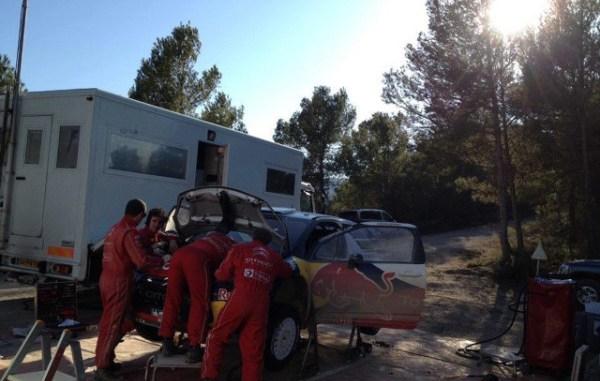 Test España Hirvonen DS3 WRC