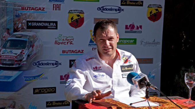 Alberto Llovera Progama 2012