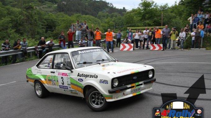 Lolo garcia rally villa pravia historicos 2012