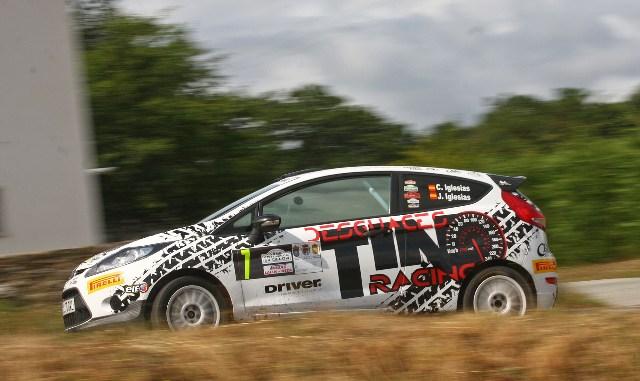 Tino Iglesias - Trofeo Driver Pirelli - Rali Comarca Ulloa 2014
