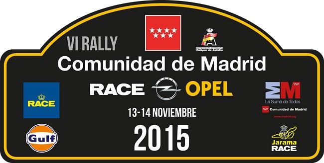 PLACA VI RALLY COMUNIDAD DE MADRID