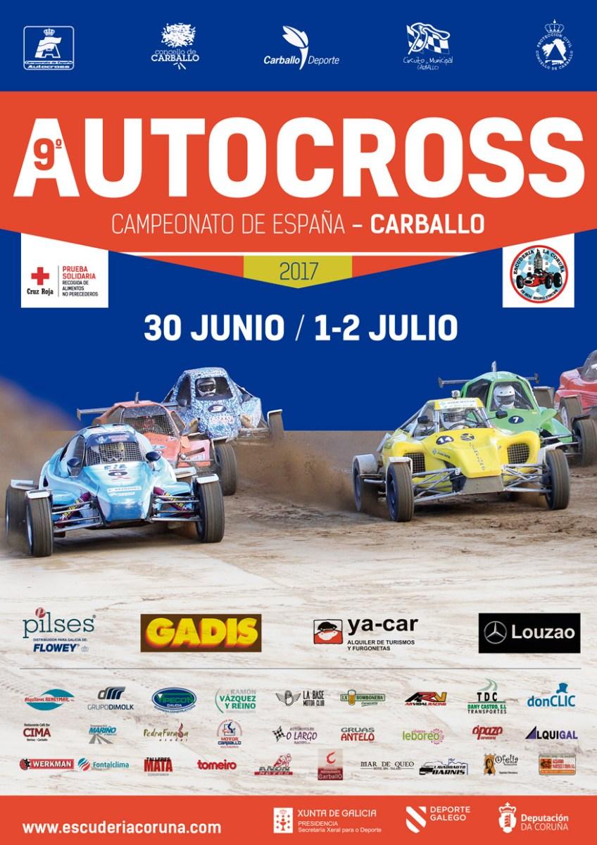 Nueva cita del Campeonato Nacional de Autocross en Carballo.