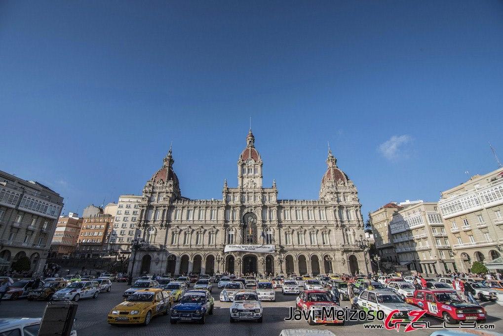 La Plaza de María Pita acogerá la ceremonia de salida del Rally Rías Altas