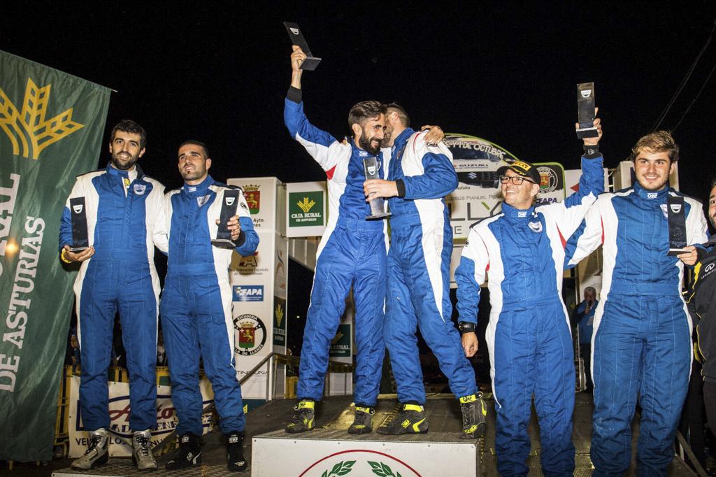 Antón Pérez Fojón y David Fdez. Maceda se anotan una nueva victoria en la Copa Dacia en Llanes