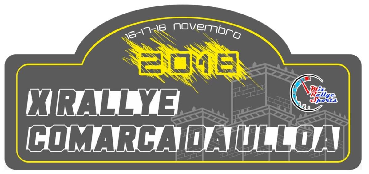 X Rallye Comarca da Ulloa 2018