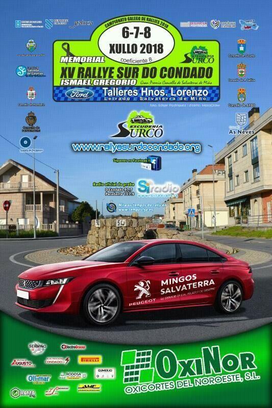 15 Rallye Sur do Condado 2018