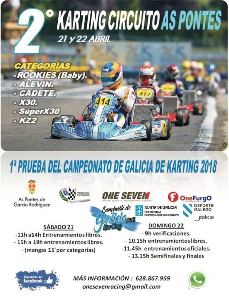 2 Karting As Pontes 2018