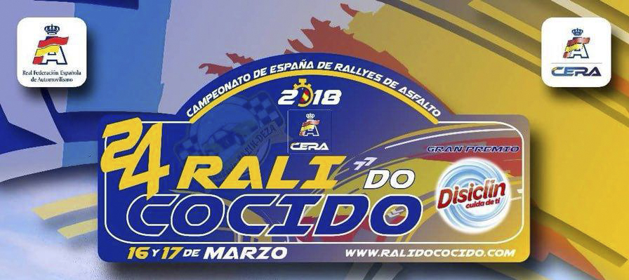 [PREVIO] 24º Rally do Cocido 2018