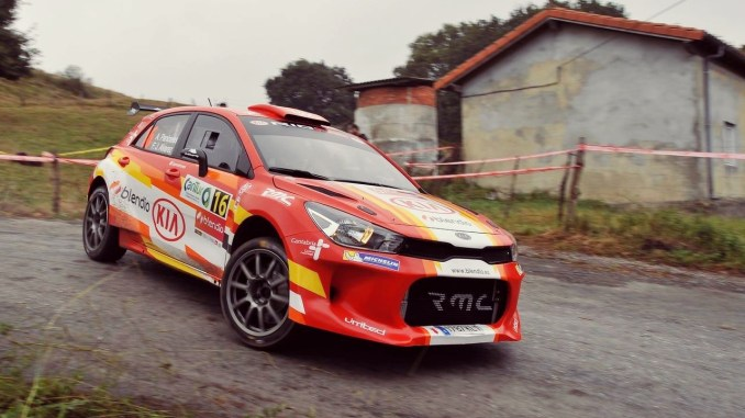 Ángel Paniceres y Álvarez Rallye Cantabria 2018