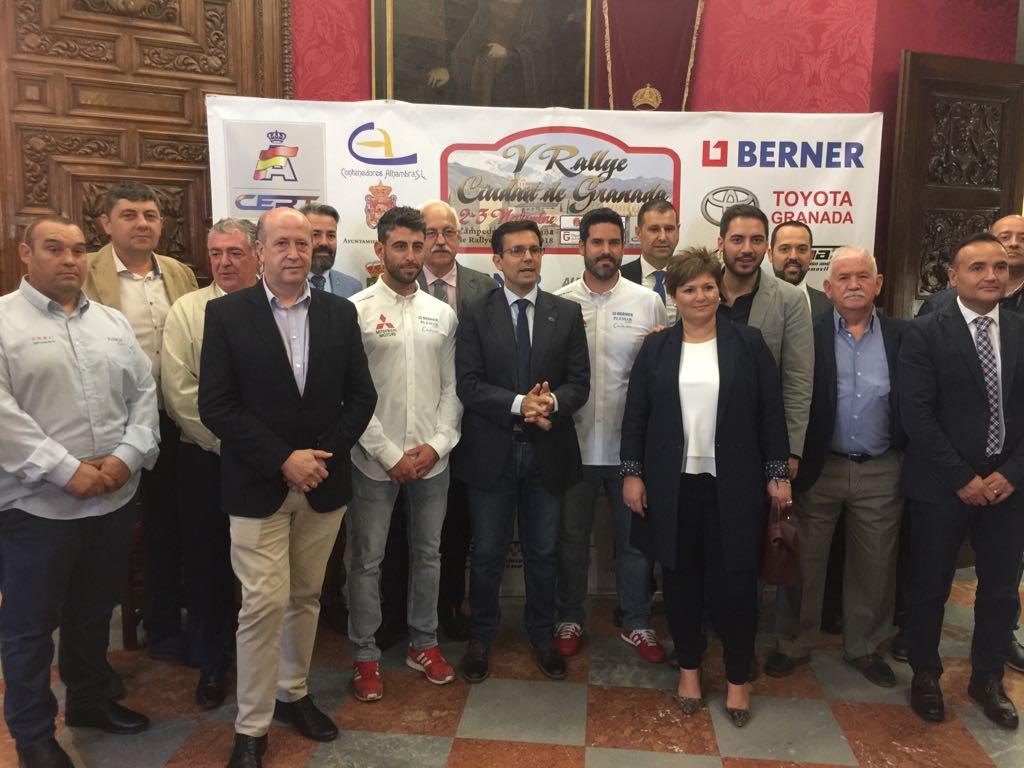 Presentación Rally de Granada 2018