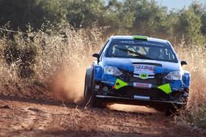 Osian Pryce y Dale Furniss en el Rally de Granada 2018