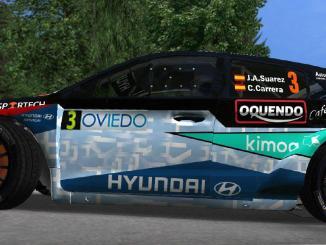 Jose Antonio Suarez RBR Hyundai i20 R5