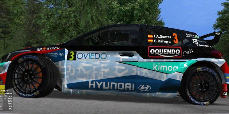 Skin - Jose Antonio Suarez - Hyundai i20 R5 - CERA - RBR