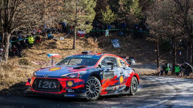 Neuville Rally Montecarlo 2019 dia 2