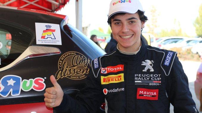 Oscar Palomo en el Rally Serras de Fafe 2018