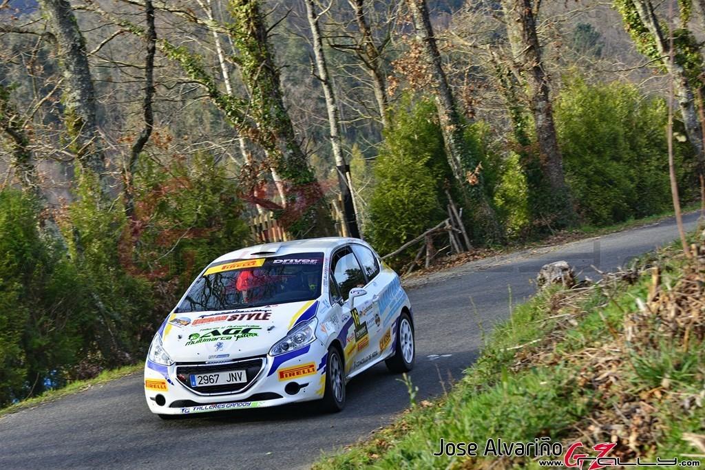 Dani Castro y Sergio Martinez causan baja en el Rally de Noia