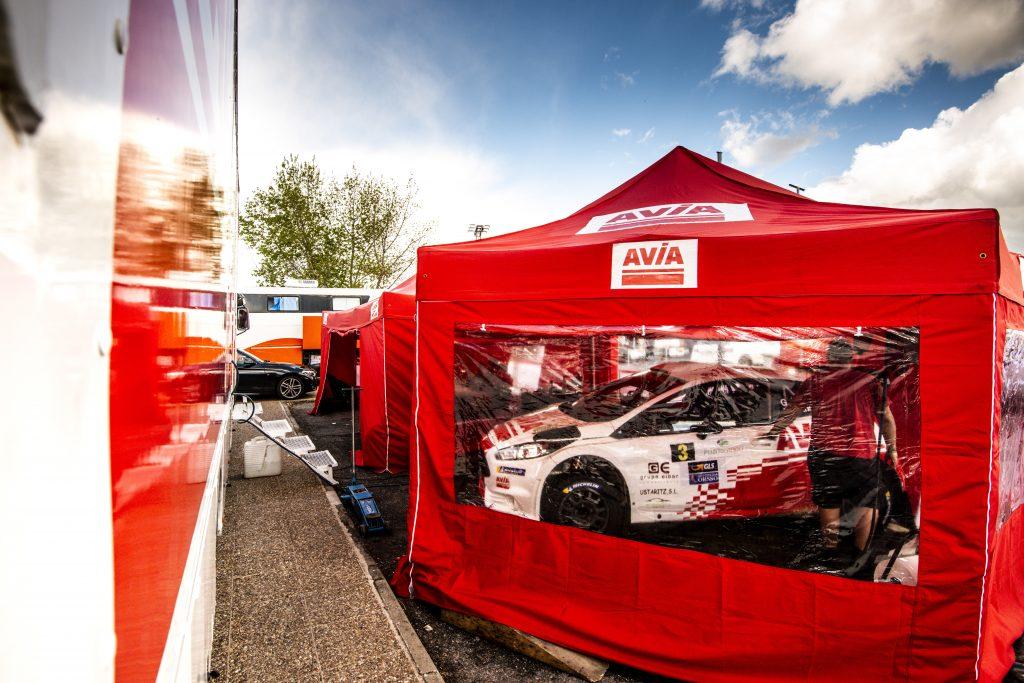 Previo Gorka Eizmendi al Rally Circuito de Navarra 2019 - Carpa Equipo