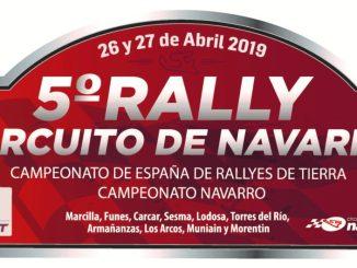 placa rally circuito de navarra 2019