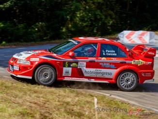 Luis Penido en el Rally Botafumeiro 2019