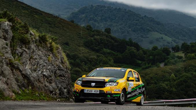 Quijada y Cuni en el Rallye Princesa (2)