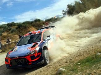 Loeb en el Rally de Granada 2019