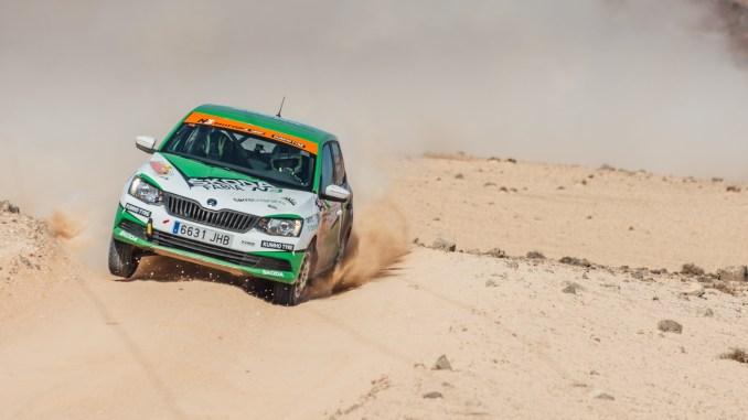 Kevin Guerra en el Rally Lanzarote 2019