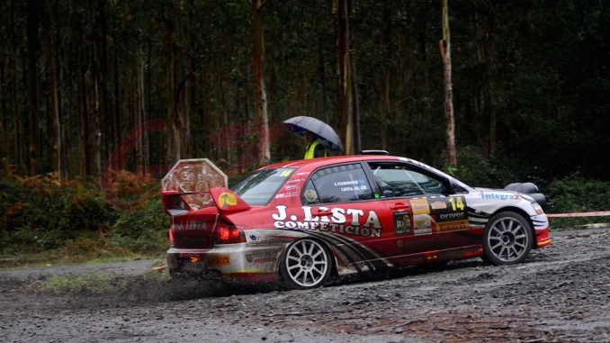 Lista en el Rally Mariña Lucense 2019