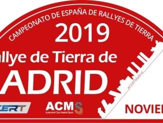 Placa Rally de Madrid de Tierra 2019