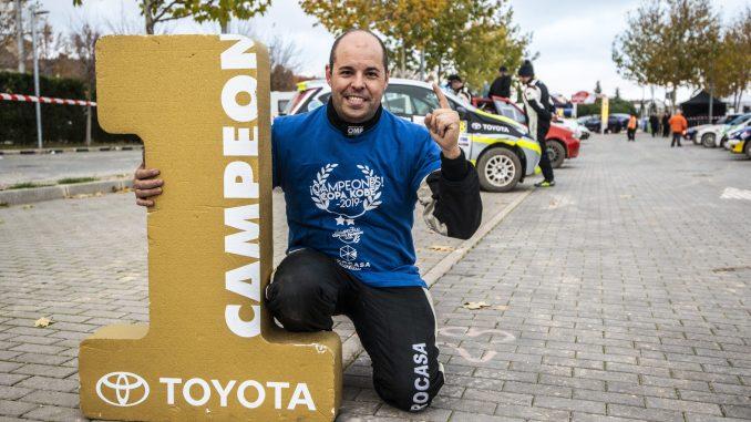 Unai García en el Rally de Tierra de Madrid