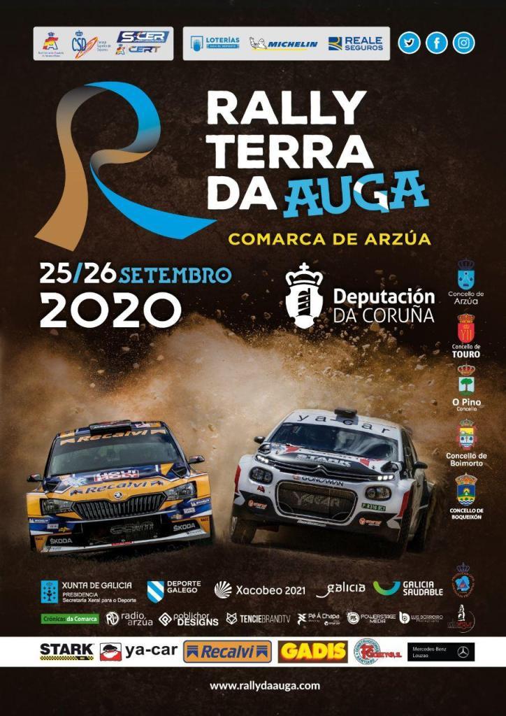 Cartel Rally Terra da Auga 2020