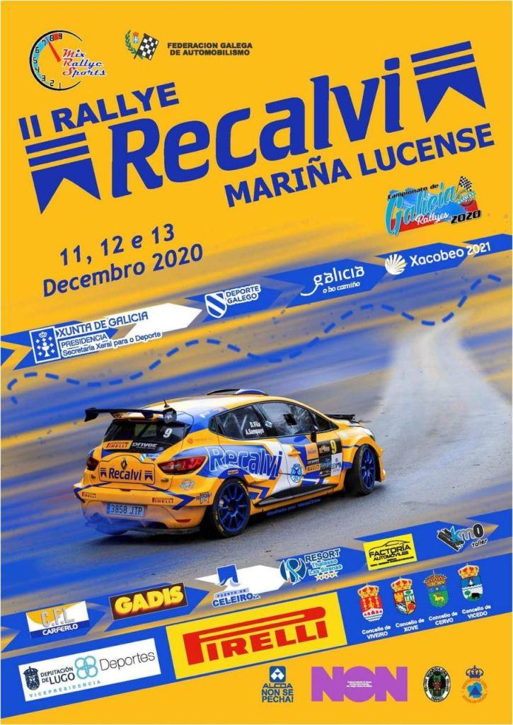 Cartel Rally Mariña Lucense 2020