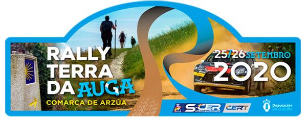 Placa Rally Terra da Auga 2020