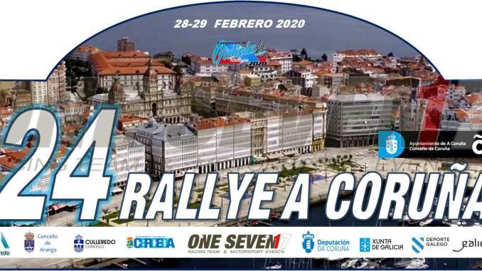 Placa Rally de A Coruña 2020
